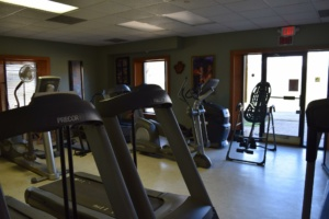 Gym equipment at Matthew's Gym in Forest City, NC