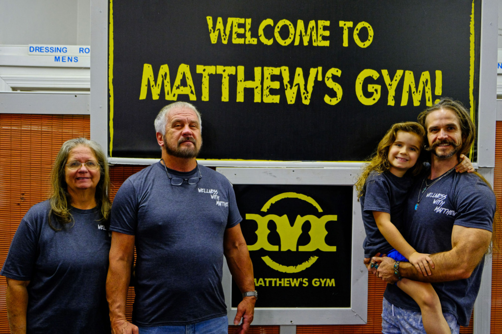 matthews gym family in forest city